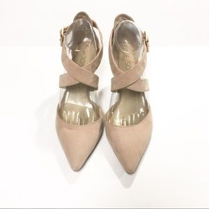 Sole Society Shoes - Sole Society Tamra Tan Cream Pump Size 9.5B